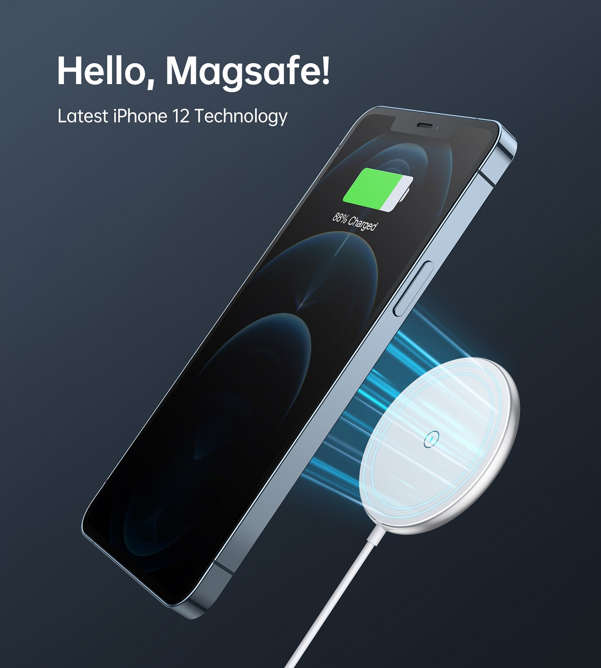 Choetech T580F Magnetic Wireless Charger