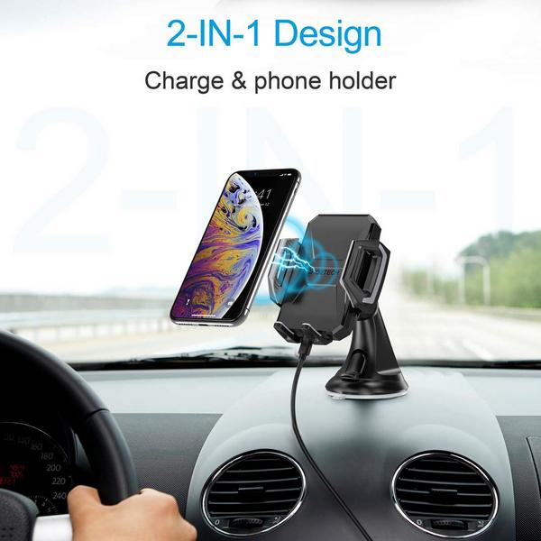 Choetech T521-S Wireless Car fast charger