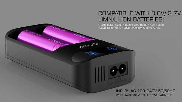 Efest LUSH Q2 battery charger