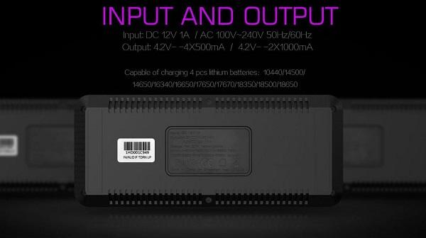 Efest LUC Blu4 Bluetooth charger