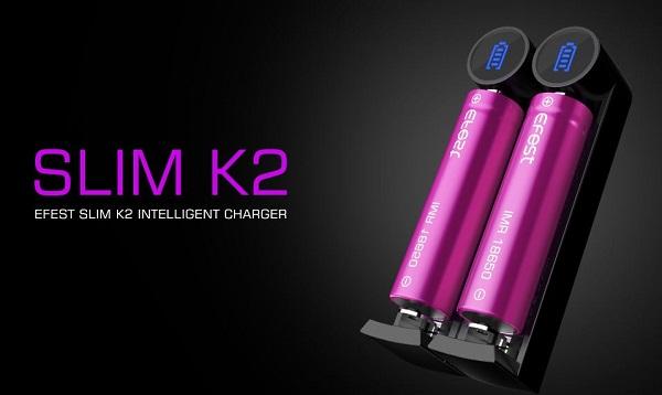 Efest K2 Slim Charger