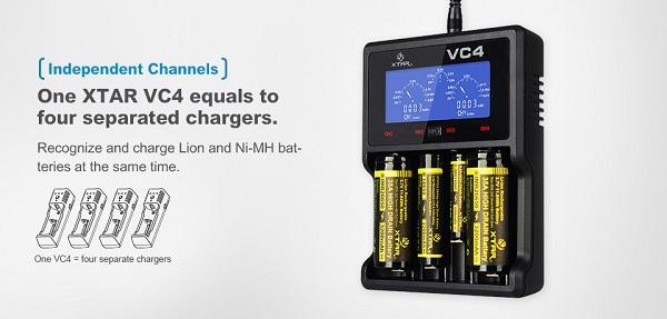 xtar VC4 charger