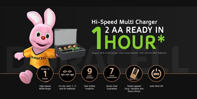 duracell cef 22 charger