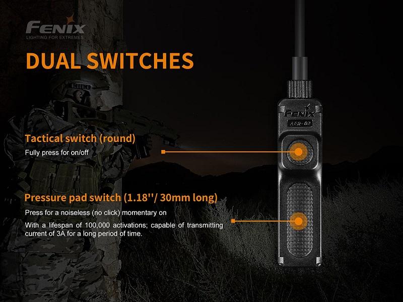 Fenix AER02 V2 Remote pressure switch