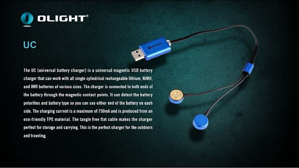 Olight Universal Magnetic USB Charger