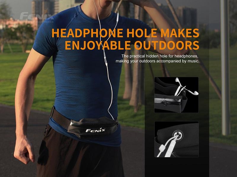 Fenix AFB-10 sports waist pack