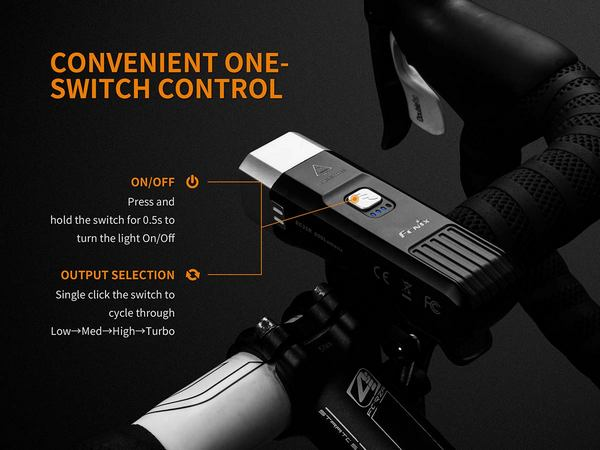 FEnix BC25R bike light