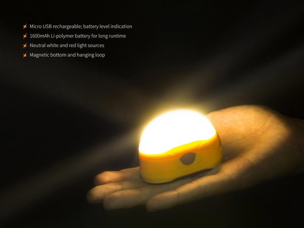 Fenix CL20R camping lantern