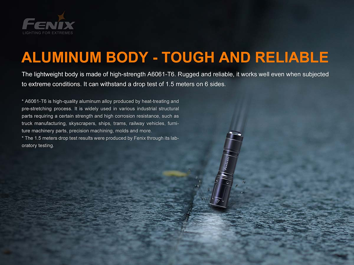 Fenix E01_V2 Keay Chain light