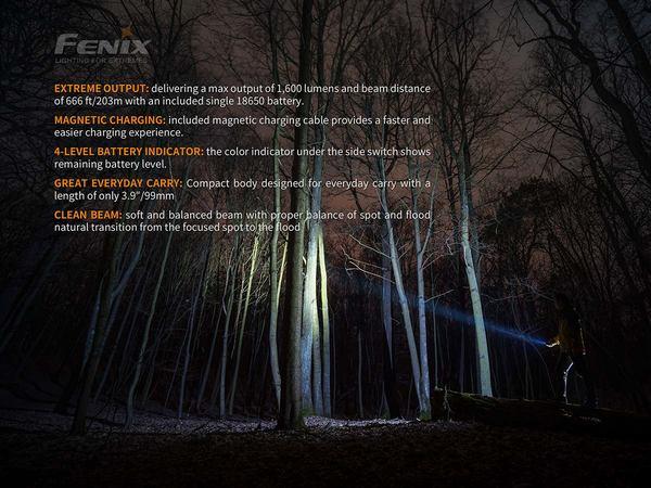 Fenix E30R LED Flashlight