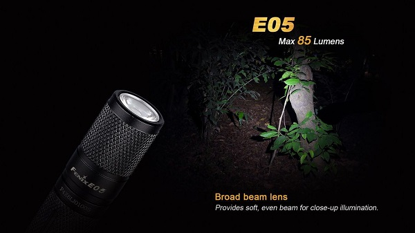 fenix E05 led flashlight EDC
