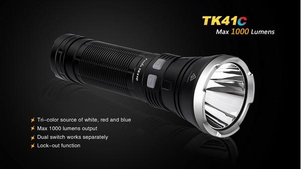 Fenix-TK41C-LED-Flashlight 1000 lumens