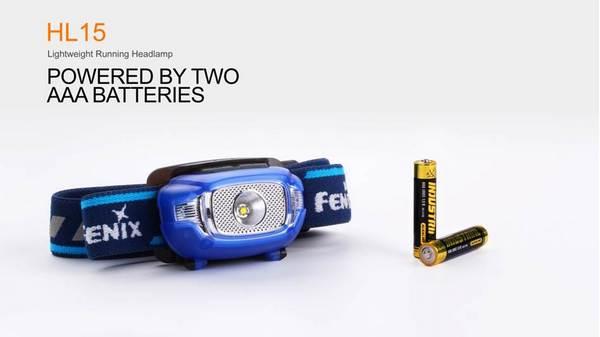 Fenix HL15 LED headlamp 200 lumens