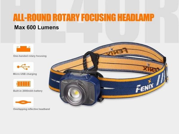 Fenix HL40R Focusable led headlamp