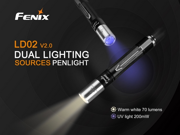 Fenix LD02 V2 UV Penlight