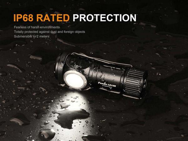 Fenix LD15R 500 Lumens