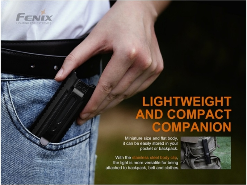 Fenix LD42 1000 lumens flashlight