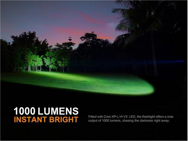Fenix PD35 V2 1000 lumens