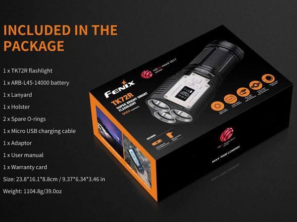 Fenix TK72R 9000 Lumens