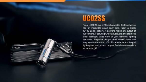 Fenix UC02SS Keychain Light