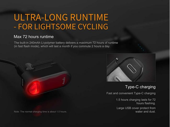 Fenix BC05R Bike Tail Light