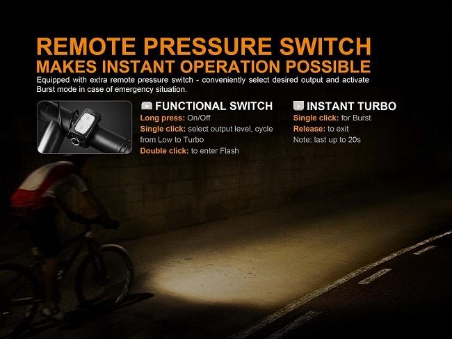Fenix BC35R 1800 Lumens bike light