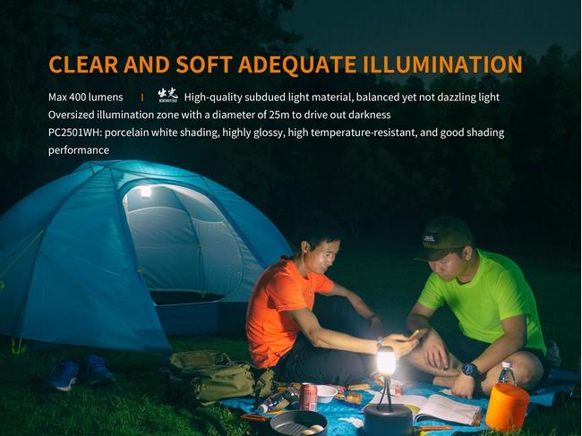 Fenix CL26R 400 Lumens rechargeable