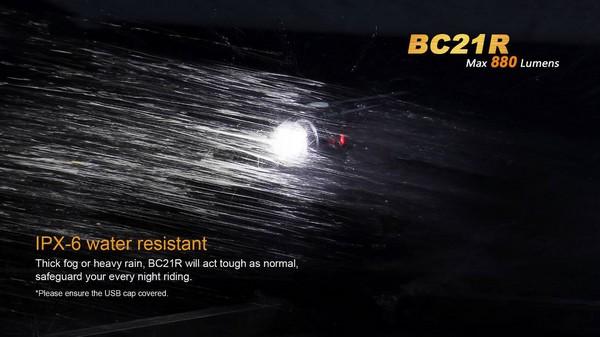 fenix BC21R led bike lamp 880 lumens