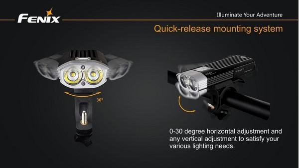 fenix BC30 led bike lamp 1800 lumens