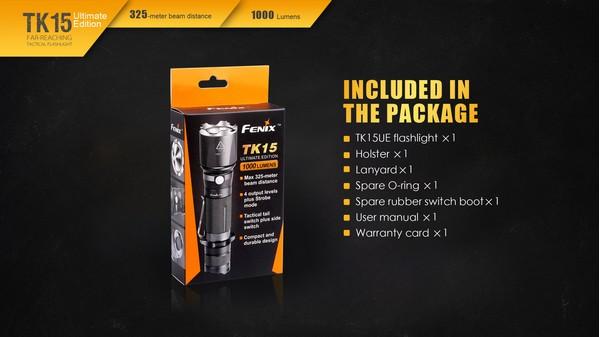 fenix TK15UE 1000 lumens led flashlight