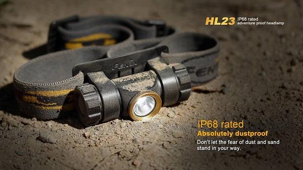 fenix HL23 headlamp
