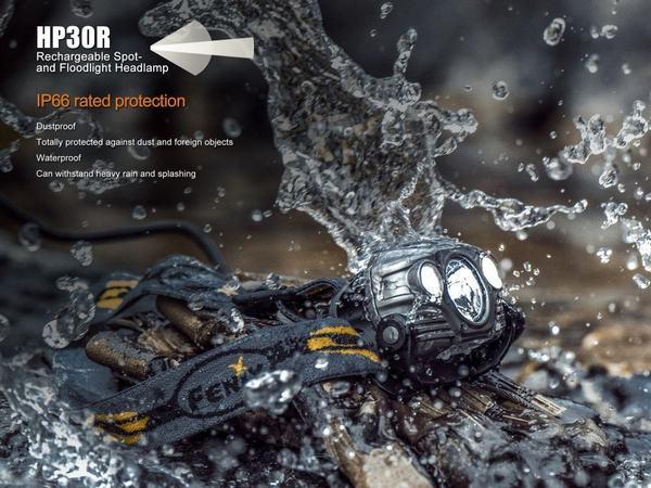 Fenix HP30R Led headlamp 1750 lumens