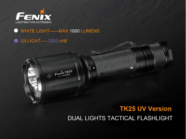 Fenix TK25UV Led 1000 lumens