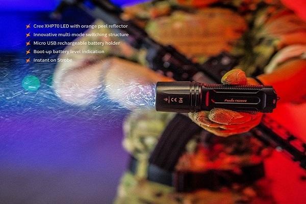Fenix TK35 2018 upgrade 3200 lumens