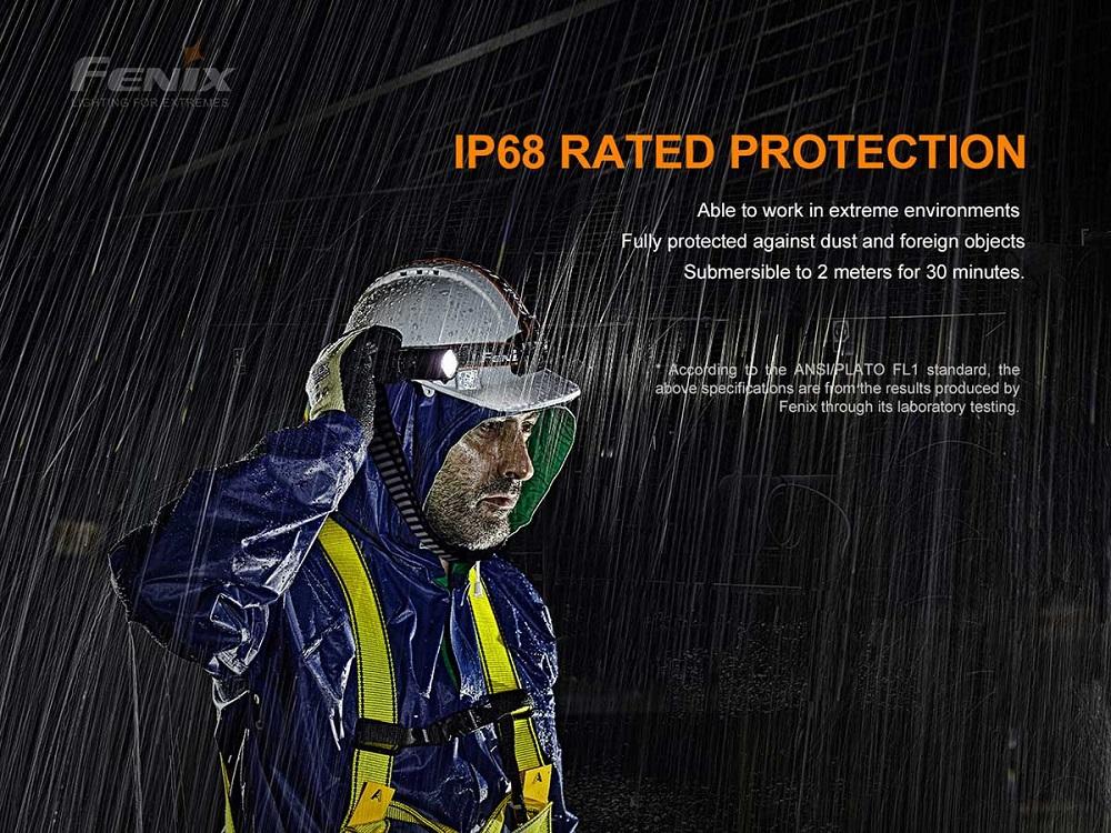 Fenix WF30RE Intrinsically Safe Flashlight