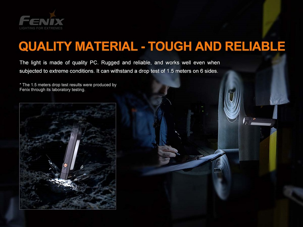 Fenix WT16R Rechargeable Work Light