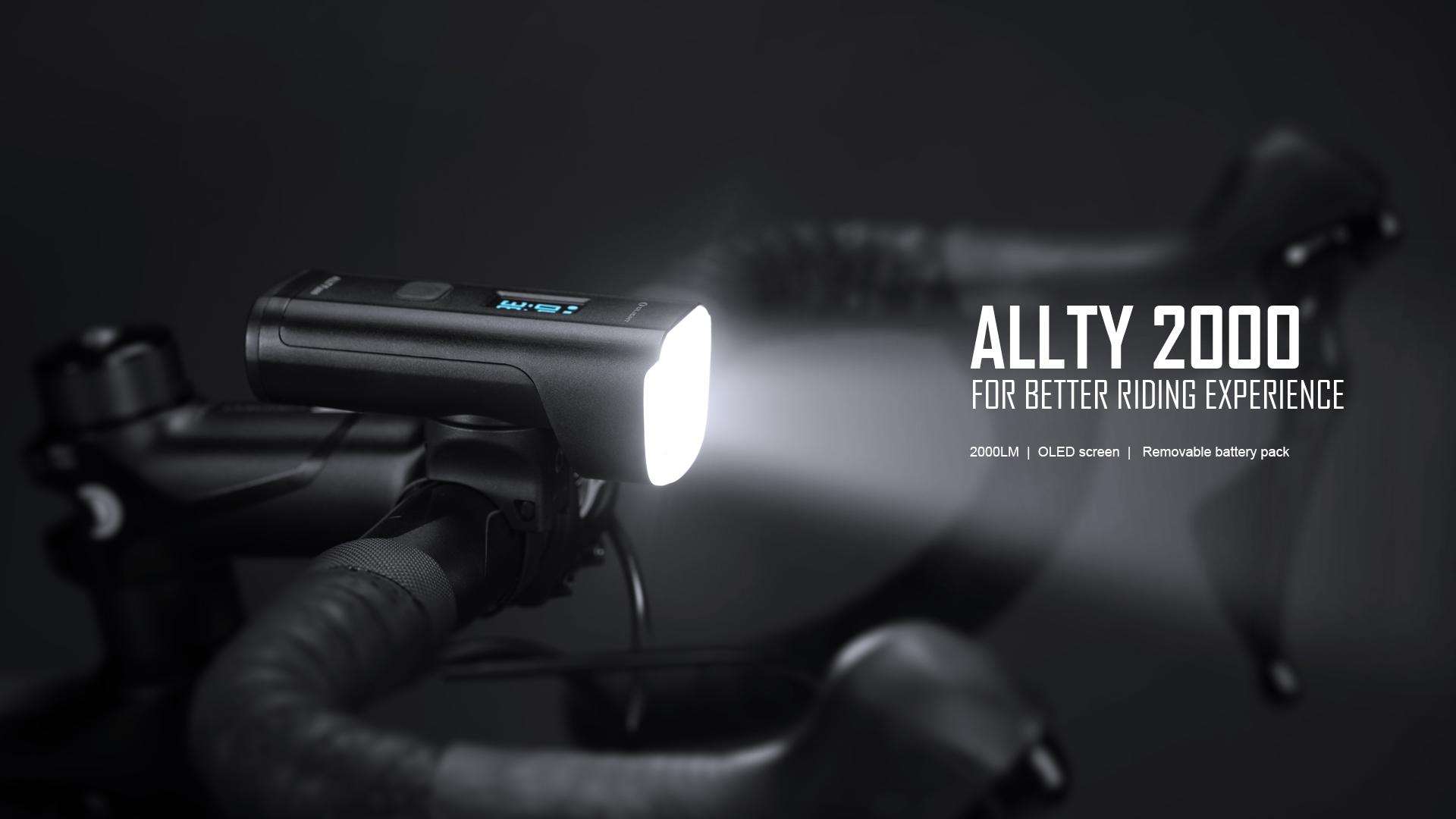 olight Allty 2000 bike light