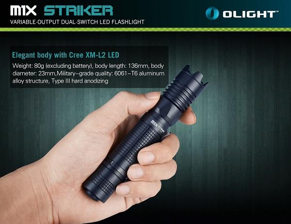 Olight M1X striker