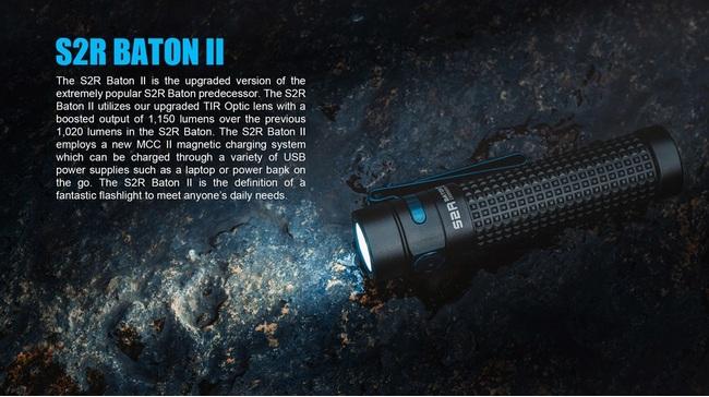 Olights S2r baton II