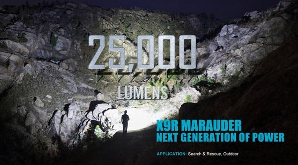 Olight X9R 25000 Lumens