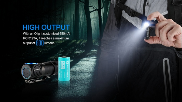 Olight H1R Nova multi use light