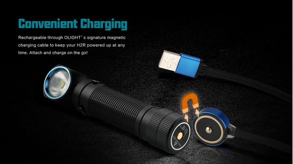 Olight H2R Nova multi use light 2300 lumens