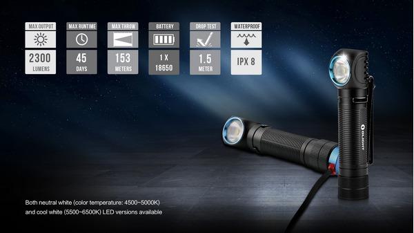Olight H2R Nova multi use light 2300 lumens