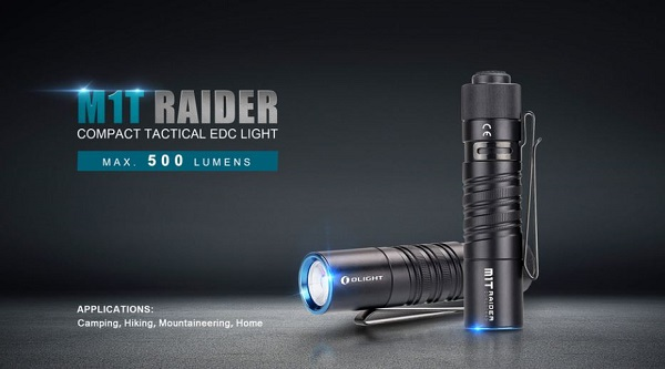 Olight M1T Raider 500 lumens
