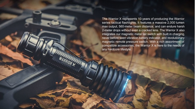 Olight Warrior X 2000 Lumens