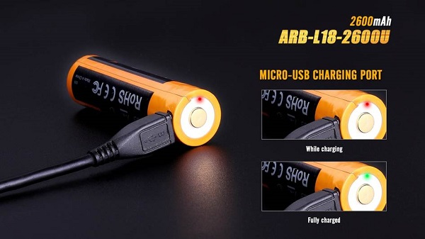 Fenix ARB-L18-2600U USB Battery 2600mah