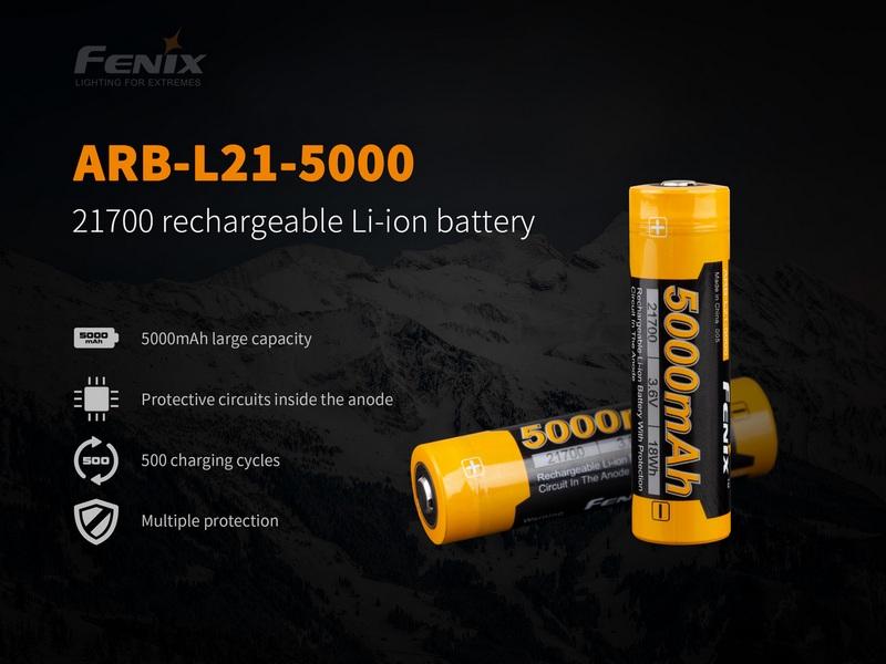 Fenix ARB-L21-5000 Rechargeable Battery