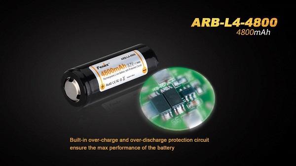Fenix ARB-L4-4800 26650 Battery 4800mAh