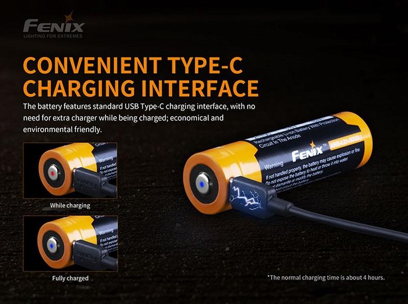 Fenix ARB-L21-5000U Rechargeable Battery
